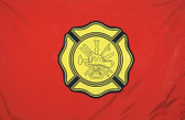 FIRE DEPARTMENT 3X5' NYLON FLAG V1