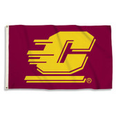 CENTRAL MICHIGAN UNIVERSITY 3X5' FLAG