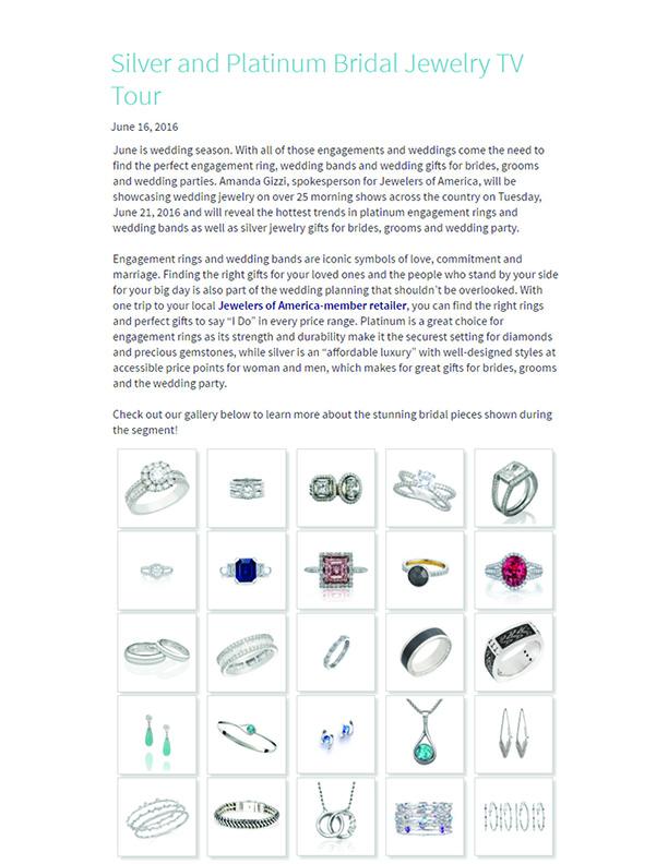 Keiko Mita's Wedding Tour | Platinum Engagement Ring | Jewelers of America Online