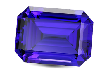Polished Tanzanite | Image from GIA