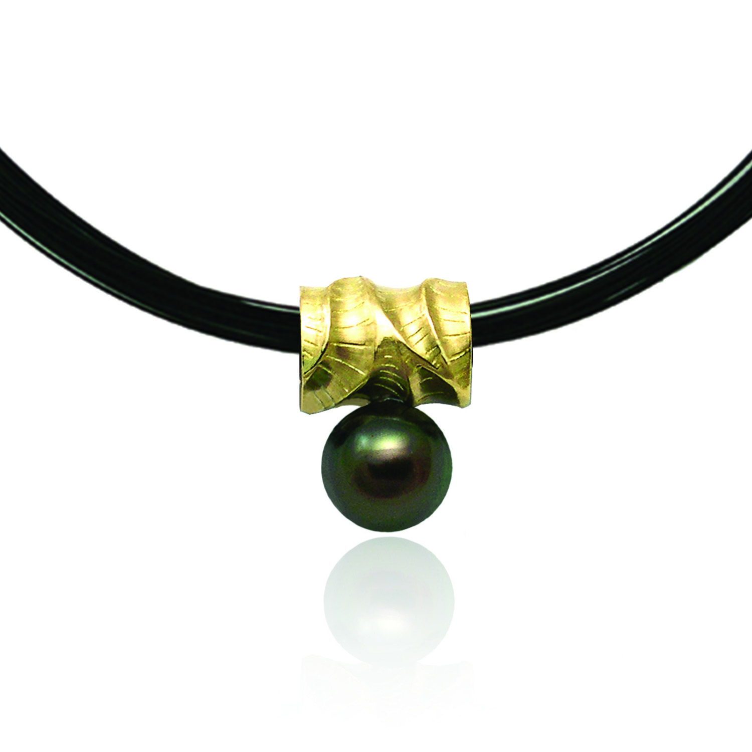 Reversable Pearl Necklace by K.Mita