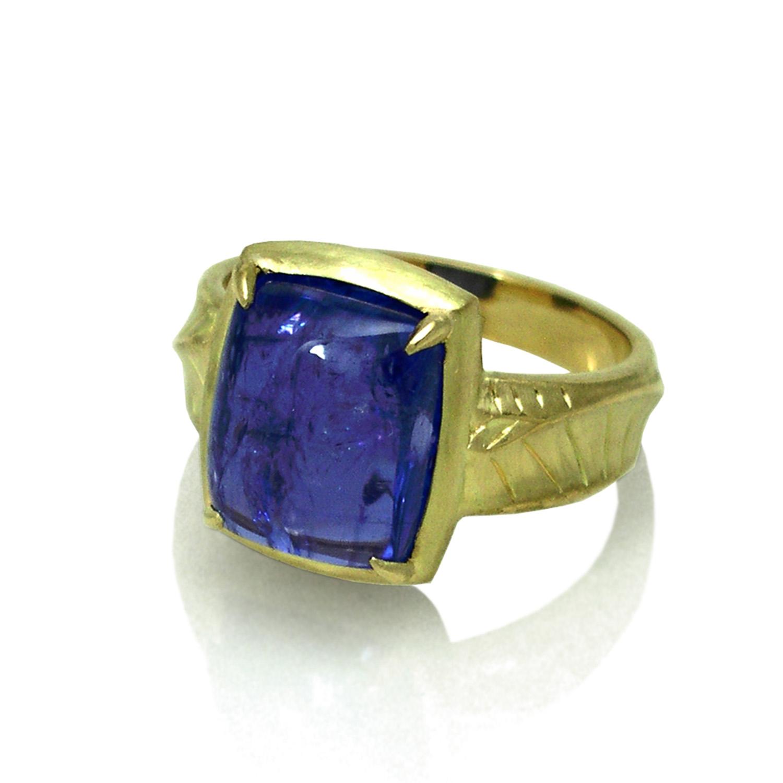 K.Mita's Tanzanite Iris Ring