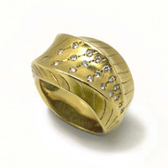 Dune Ring from Keiko Mita's Sand Dune Collection
