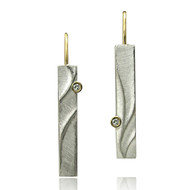 Echo Dangle Earrings from Keiko Mita's Sand Dune Collection