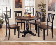 Ashley Owingsville Round Dining Room Set