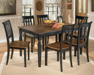 Ashley Owingsville Dining Room Set