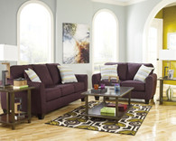 Ashley Ean- Eggplant Living Room Set