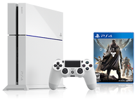 Sony PS4 Glacier Destiny Bundle