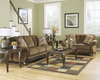 Ashley Montgomery Mocha 7 pc Living Room Package