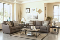 Ashley Janley Living Room Set in Slate