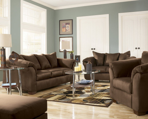 Ashley darcy living room package masters buy or lease for Ashley furniture living room packages
