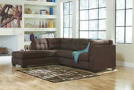 Ashley Maier in Walnut 7 Pc Living Room Package