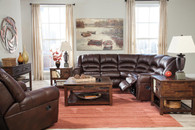 Ashley Manzanola– Chocolate Sectional