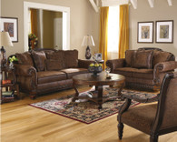 Ashley Wilmington Walnut Sofa Set