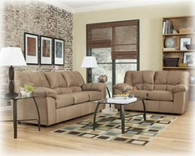 Ashley Dominator Mocha Sofa Set