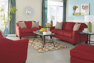 Ashley Hannin Scarlet Sofa Set