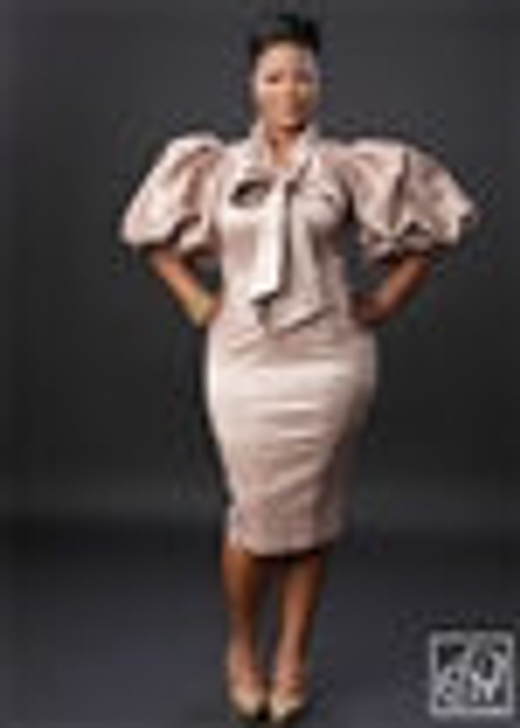 TAWNI HAYNES SIGNATURE BOW DRESS