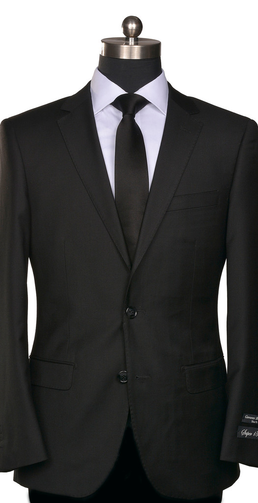 RSA Solid Black Suit