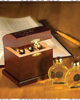 Gifts of the Wise Men Anointing Oil Box in Spanish