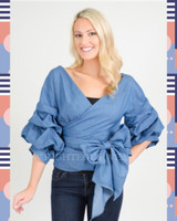 Kathleen Ruched Sleeve Shirt (SOLD OUT)