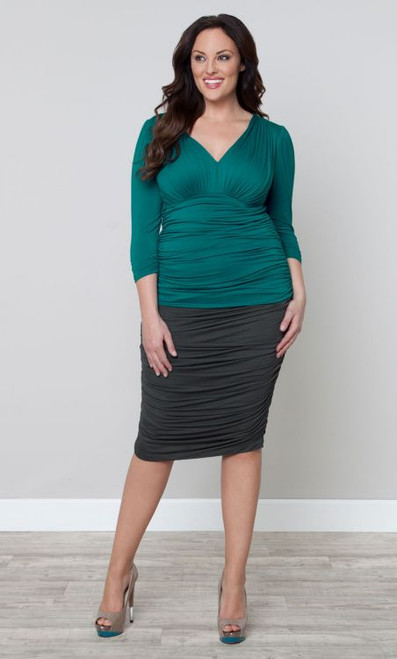 RILEY RUCHED SKIRT