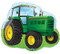 "34"" Green Tractor"