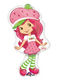 "14"" Mini-Shape Strawberry Shortcake"