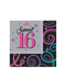 Celebrate Sweet 16 Beverage Napkins 16ct