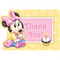 1st Birthday Minnie Mouse Thank You Notes 8ct