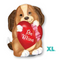 "18"" Adorable Puppy Love Junior Shape S50"