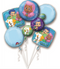 Bubble Guppies balloon Bouquet P75
