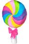 3D Lollipop Pull Pinata