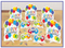 241540 Balloon Bash  Table Decorating Kit - Printed Paper