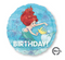 "17"" Airel Dream Big Happy Birthday S60 (33935)"