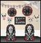 241168 Black & Bone Room Decorating Kit