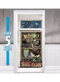 249400 Asylum/Chop Shop Halloween Refrigerator Door Cover