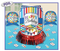 280045 Bright Birthday Table Decorating Kit