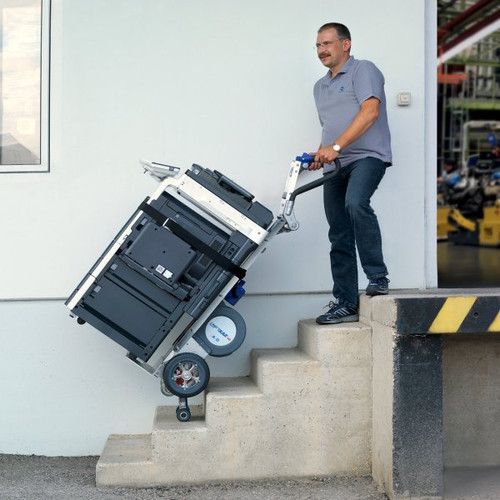 Wesco Liftkar Fold-L Battery Power Stair Climber HandTruck (375 lb. Capacity Pneumatic Wheels) - Wesco 274151