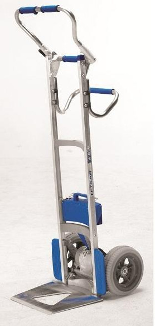 Wesco Liftkar Fold-L Battery Power Stair Climber Hand Truck (300 lb. Capacity Flat Free Wheels) - Wesco 274159