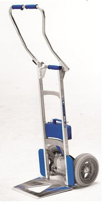 Wesco Liftkar SAL Fold Handle Motorized Stair Climbing Hand Truck (300 lb. Capacity Flat Free Wheels) - Wesco 274157