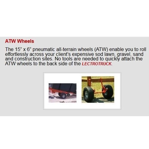 "Lectro Truck 1268E 1500lb Capacity  71""H (Steel)"