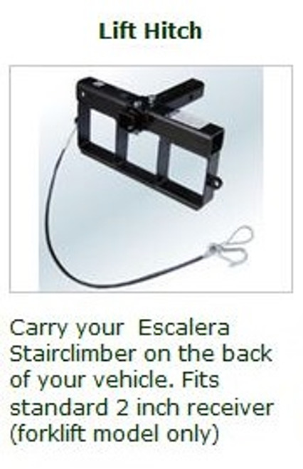 Escalera MLA-EW Motorized Stair Climber With Winch Lift (Non-Removable & Electric)
