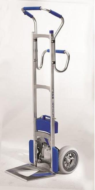 Wesco Liftkar SAL Ergo Power Stair Climbing Hand Truck  (300 lb. Capacity Flat Free Wheels) -  Wesco 274156