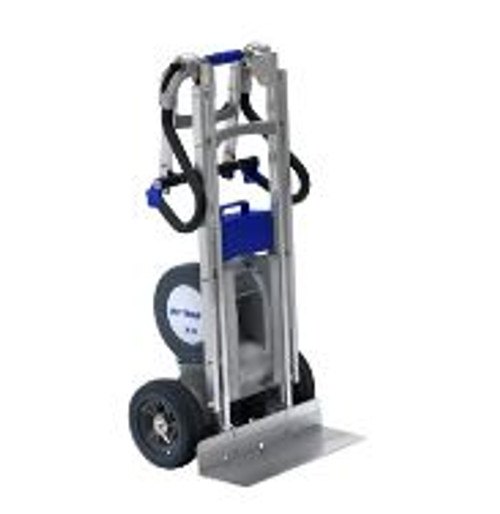 Wesco 274101 Folding Handle Electric Heavy Duty Stair Climber Hand Truck