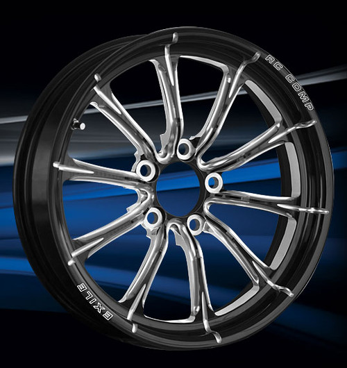 Exile Series Drag Race Front Wheel
