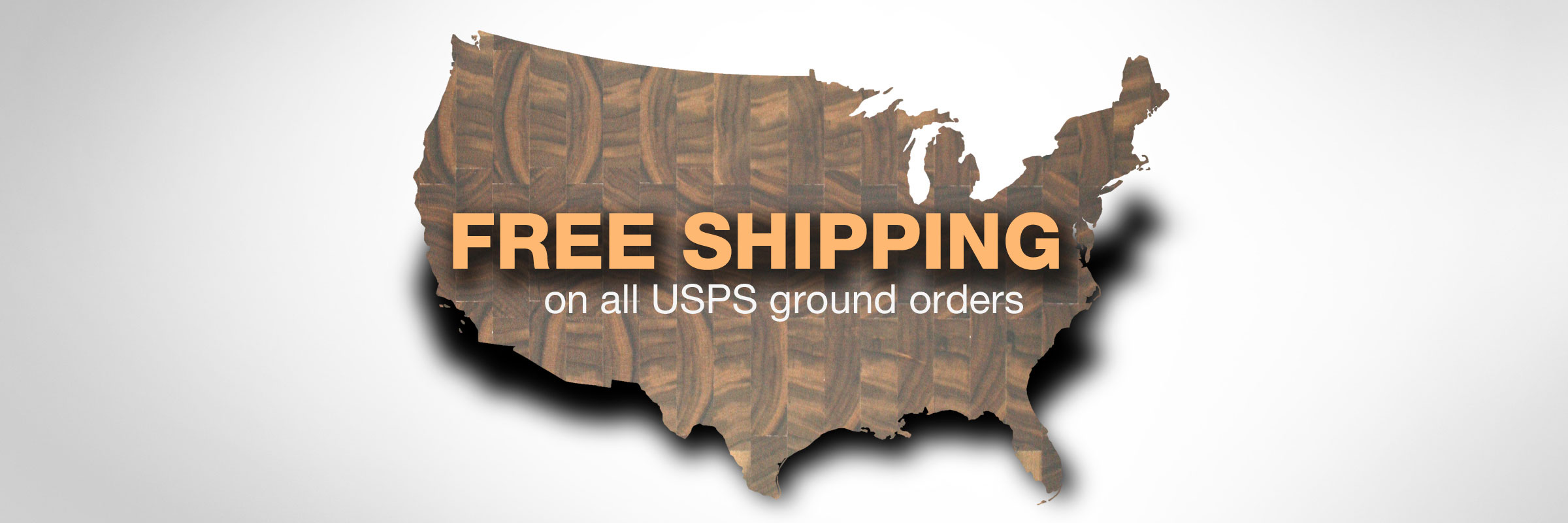 Free Shipping on All USPS Ground Orders