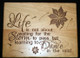 Life is Not About Waiting for the Storm to Pass but Learning to Dance in the Rain Personalized Cutting Board - Housewarming Gift, Home Decor