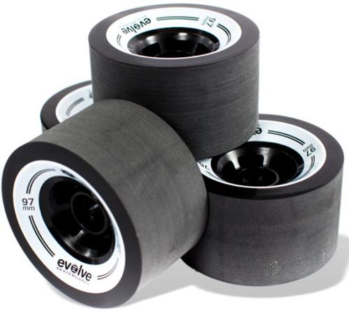 Evolve GT Street Wheels Black