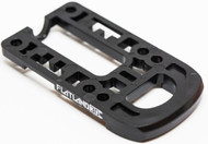 2018 Flatland 3D Boosted Board Bash Guard - Black Rounded