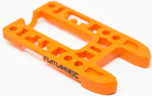 2018 Flatland 3D Boosted Board Bash Guard - Orange Pronger